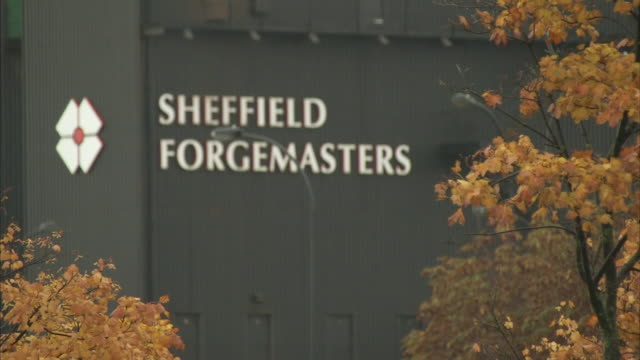 exterior shots of sheffield forgemasters. - sheffield stock videos & royalty-free footage