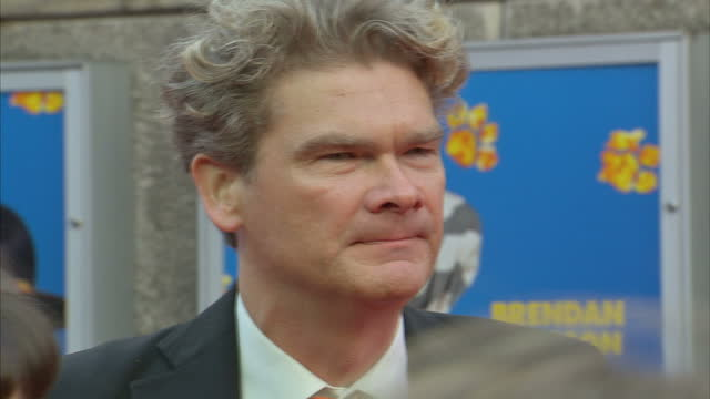 exterior shots of simon farnaby on the red carpet at the premiere of paddington 2 at the bfi southbank on november 05 2017 in london england - bfi southbank stock videos & royalty-free footage