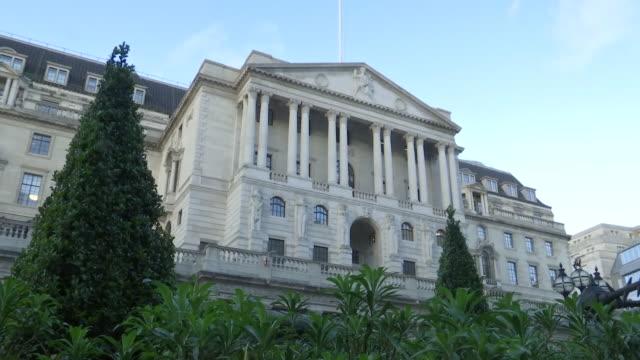 GBR: Bank of England stock footage