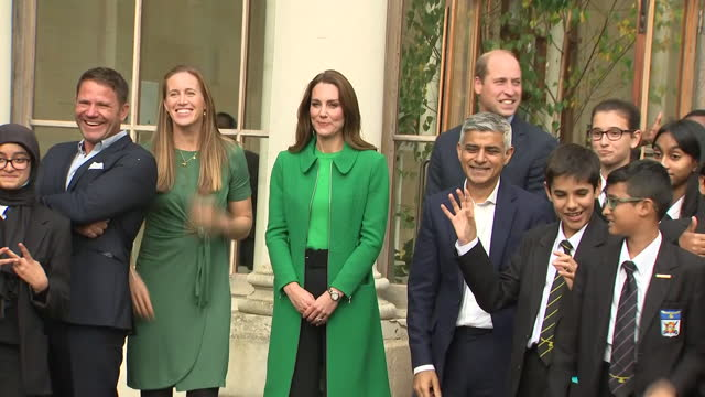 GBR: The Duke and Duchess of Cambridge attended the first ever Earthshot Prize Awards Ceremony at Alexandra Palace