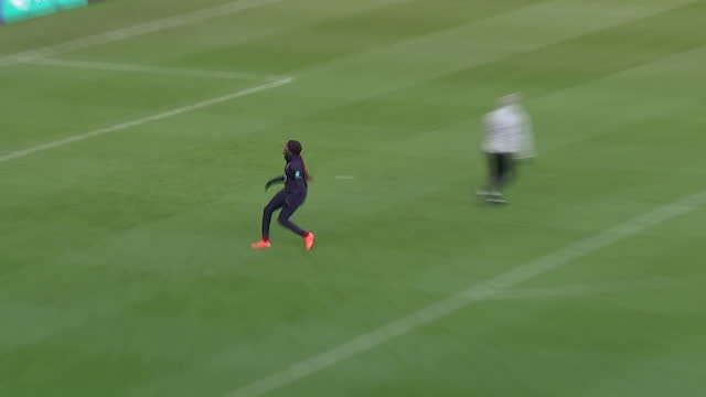 exterior shots of the england women participating in a training match at the bet 365 stadium in stoke-upon-trent on the 27th of november 2020. - women stock videos & royalty-free footage