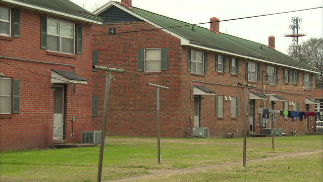 Exterior shots of the George Washington Carver Homes public housing project in Selma>> on March 07 2015 in Selma Alabama