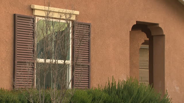 Exterior shots of the home in Perris California where parents David and Louise Turpin were discovered to be holding their thirteen children captive...