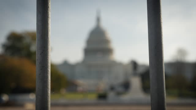 exterior shots of the national mall and capitol building on election day on 3 november 2020 in washington dc, united states - capitol hill stock videos & royalty-free footage