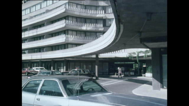 exterior shots of the watergate hotel; 1976 - patriotism stock videos & royalty-free footage