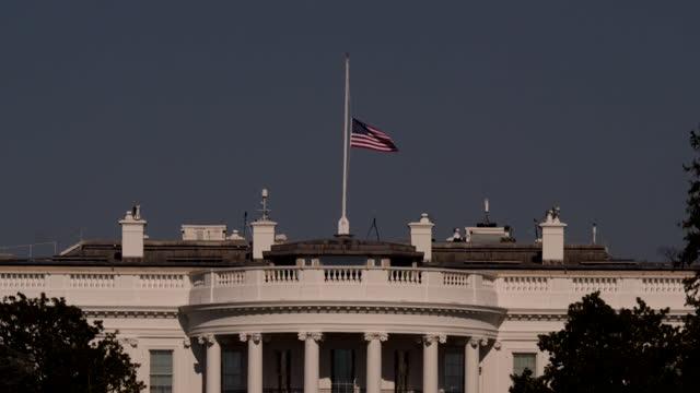 DC: Empty Washington DC ahead of Joe Biden's inauguration