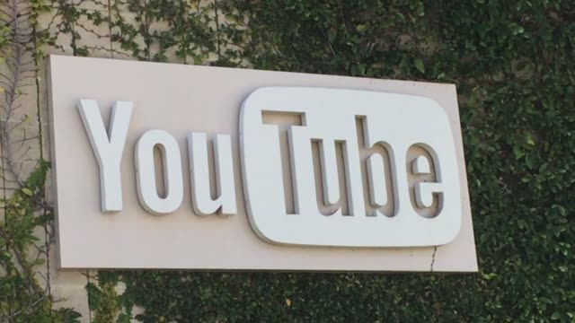 stockvideo's en b-roll-footage met exterior shots of the youtube headquarters - hoofdkantoor