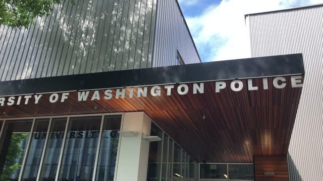 exterior shots of university of washington police building. - university of washington stock videos & royalty-free footage
