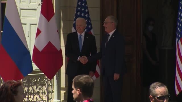 CHE: SWITZERLAND: US President Joe Biden and Russian President Vladimir Putin hold summit in Geneva.