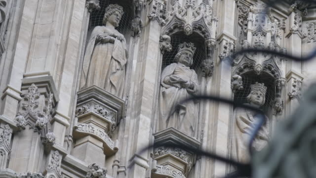 exterior shots of westminster and the houses of parliament on 12th may 2020 in london, england - houses of parliament london stock videos & royalty-free footage