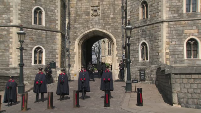 GBR: Windsor prepares for the Duke of Edinburgh's funeral tomorrow