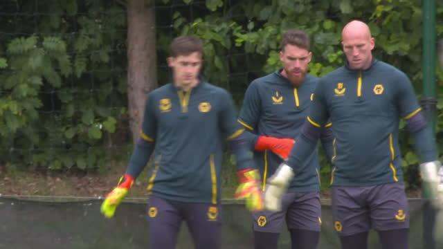 GBR: Wolves training shots