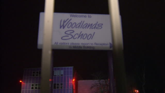 Exterior shots of Woodlands Comprehensive School in Basildon Essex where schoolgirl Leonie Nice died after being hit in head by rugby ball Woodlands...
