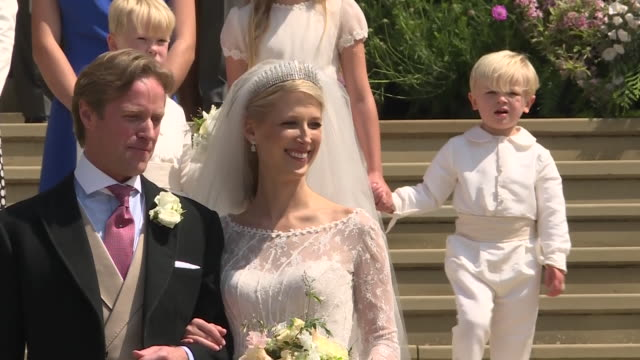 GBR: Lady Gabriella Windsor marries in front of Royal Family