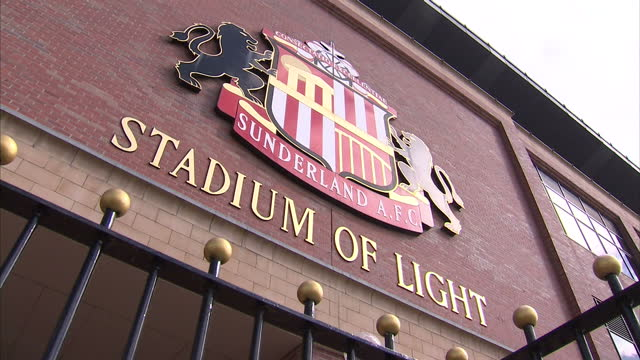 Exterior shots Stadium of Light home to Sunderland Football Club on April 1 2013 in Sunderland England