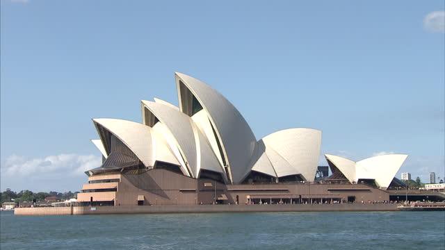 Exterior shots Sydney Opera House on April 19 2014 in Sydney Australia