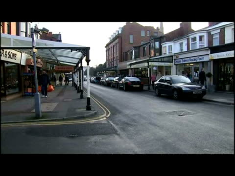 exterior shots the lounge inn pub in southport from various angles - イングランド サウスポート点の映像素材/bロール