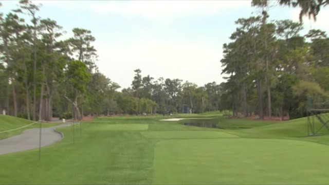 exterior shots the players stadium course at tpc sawgrass on on 11th march 2019 in ponte vedra beach florida - clubhouse stock videos & royalty-free footage