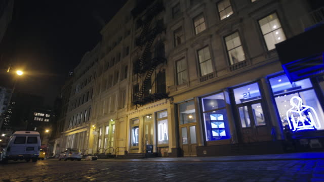 soho exterior - loft apartment stock videos & royalty-free footage