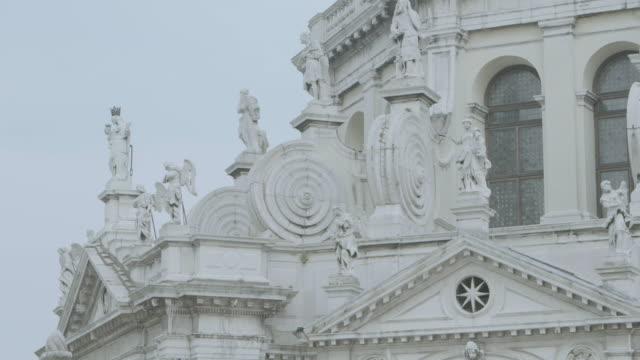 MS TU Exterior view of Santa Maria della Salute church / Venice, Italy