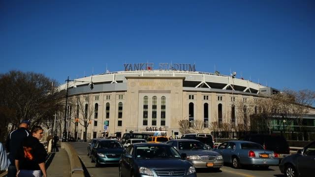 Exterior view of Yankee Stadium prior to a game against the Arizona Diamondbacks Arizona Diamondbacks v New York Yankees at Yankee Stadium on April...