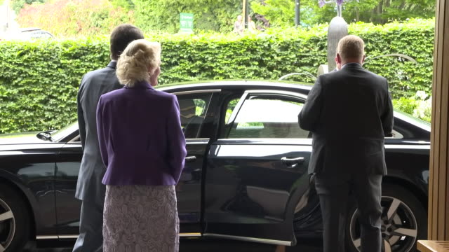GBR: The Duchess of Cornwall visits Wimbledon