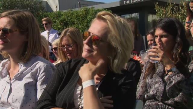 exterior views of jennifer saunders at the launch of the duchess of sussex's charity fashion range on 12 september 2019 in london united kingdom - jennifer saunders stock videos & royalty-free footage
