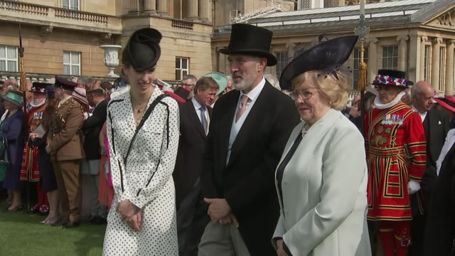 GBR: The Prince of Wales and The Duchess of Cornwall attend the first garden party of the year at Buckingham Palace
