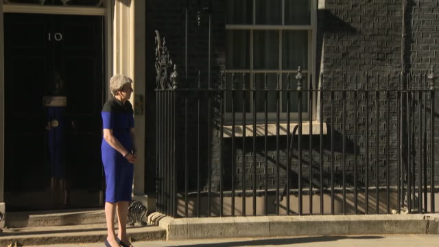 GBR: Theresa May meets NATO General Secretary Jens Stoltenberg at Downing Street