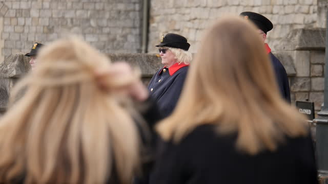 GBR: Preparations continue for Prince Philip's funeral