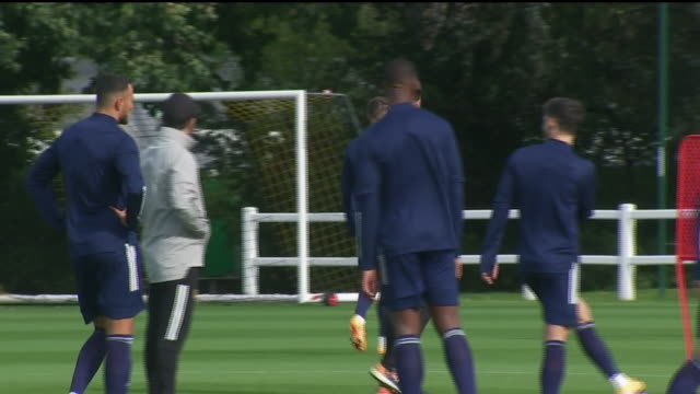 exterior wide shots of premier league team wolves at the sir jack hayward training ground in wolverhampton this footage was taken on the 24th of... - sports league stock videos & royalty-free footage