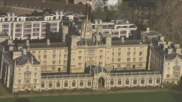 exteriors aerials of cambridge university on 17 january 2019 in oxford united kingdom - oxford university stock videos and b-roll footage