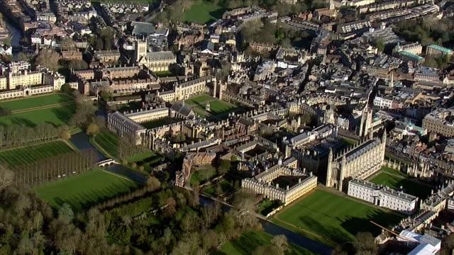 exteriors aerials of cambridge university on 17 january 2019 in oxford, united kingdom - cambridge university stock videos & royalty-free footage