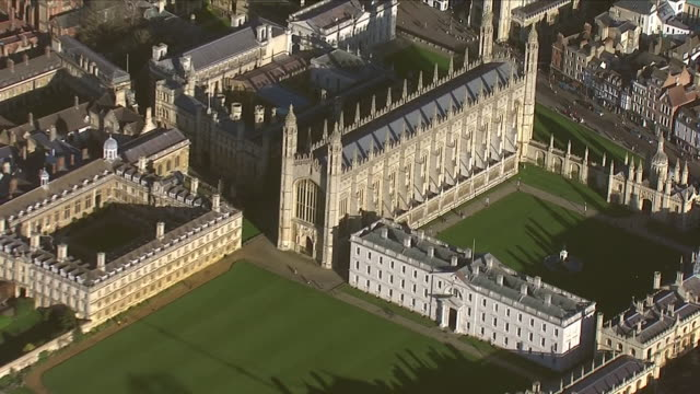 exteriors aerials of cambridge university on 17 january 2019 in oxford, united kingdom. - cambridge university stock videos & royalty-free footage