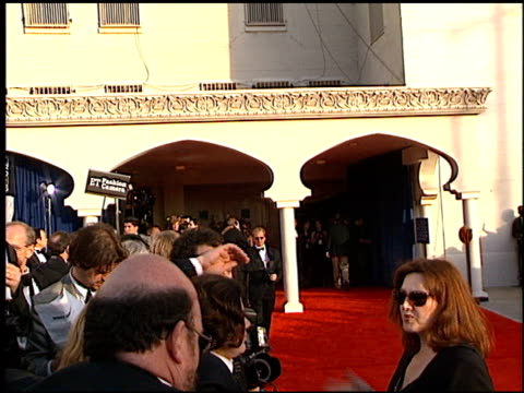 vídeos de stock, filmes e b-roll de exteriors at the 1998 screen actors guild sag awards at the shrine auditorium in los angeles california on march 8 1998 - shrine auditorium