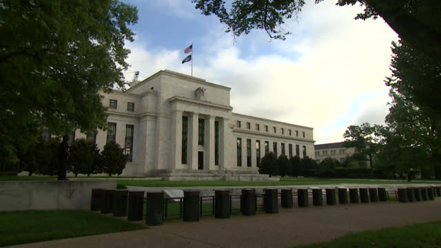 exteriors federal reserve bank, usa - politics stock videos & royalty-free footage