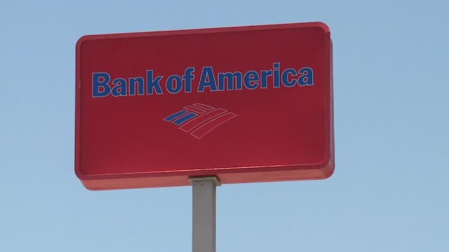 kswb exteriors of bank of america on september 20 2011 in san diego california - bank of america stock videos & royalty-free footage