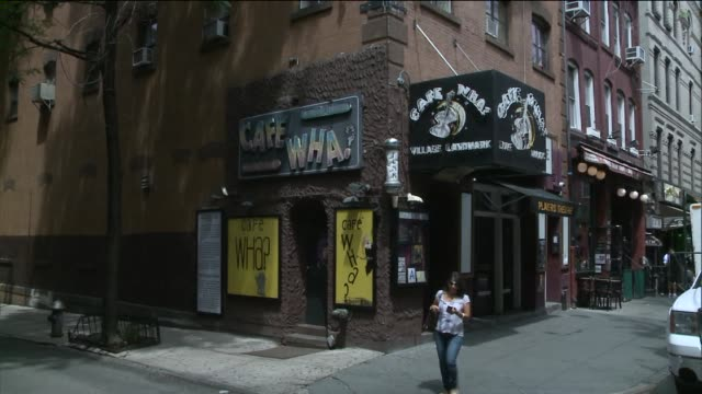 Exteriors of Cafe Wha