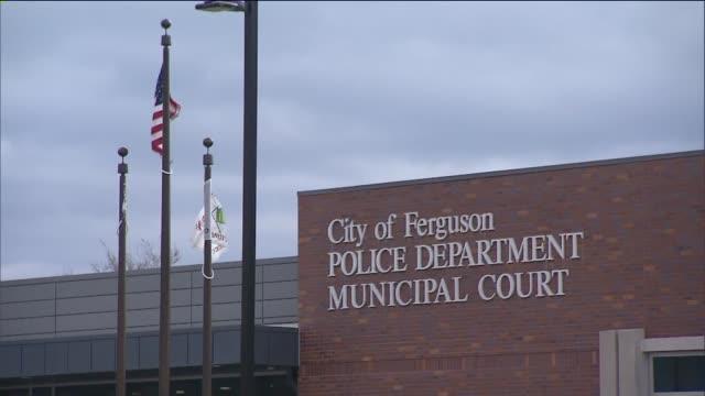 exteriors of City of Ferguson Police Department Municipal Court