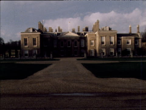 Exteriors of Lady Diana Spencer's family home Althorp Northamptonshire 1980's