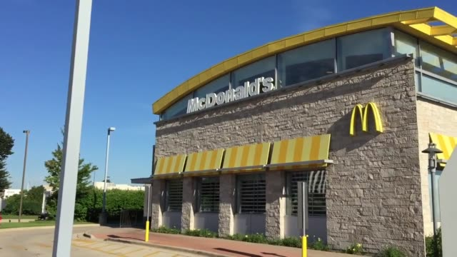exteriors of mcdonald's corporate office building restaurant exteriors exterior shots of mcdonald's corporate headquarters in oak brook illinois... - dupage county stock videos & royalty-free footage