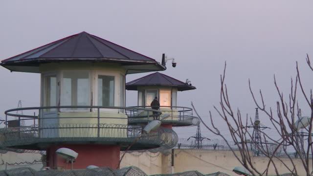 vídeos y material grabado en eventos de stock de exteriors of prison number 8 in tbilisi, georgia, where jack shepherd awaits extradition over the manslaughter of charlotte brown - georgia