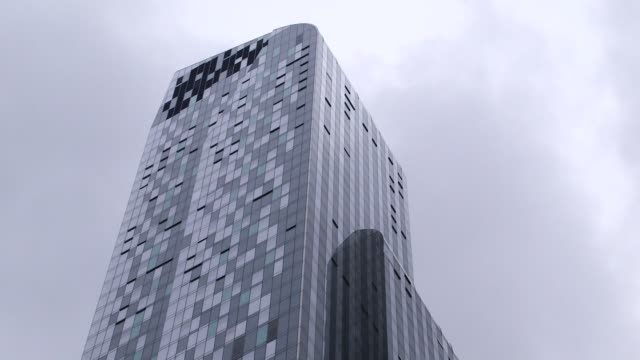 stockvideo's en b-roll-footage met exteriors of the park hyatt hotel in new york ny on august 26 2014 wide shots and close ups of the park hyatt hotel windows and architecture - hyatt