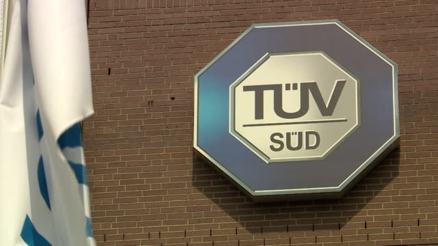 Exteriors of Tuv Sud, a German company that issued the
