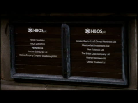 stockvideo's en b-roll-footage met exteriors var of hbos headquarters, edinburgh, from different angles. - var