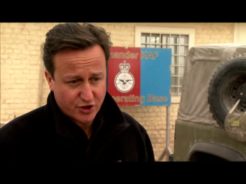external interview david cameron speaks on the government defence budget provisions for the armed services including pensions families david cameron... - kandahar afghanistan stock videos & royalty-free footage