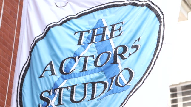 external shots of the 'actors studio' in hell's kitchen, ny - al pacino stock videos & royalty-free footage