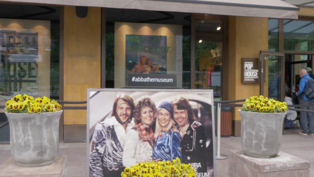 External view of Abba Museum on Djurgaden, Stockholm, Sweden, Scandinavia, Europe