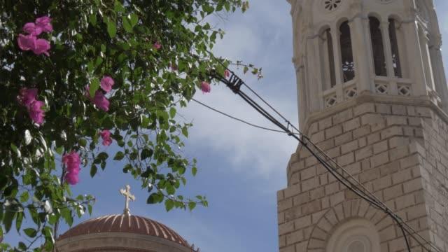 External view of Church of St. Irene, Monastiraki District, Athens, Greece, Europe