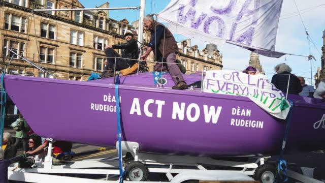 GBR: Extinction Rebellion Plan Week Of Action In UK's Major Cities